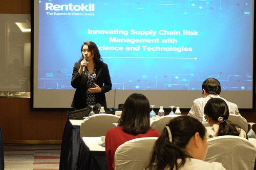Experts from Rentokil Initial Working Together With Key Indu'