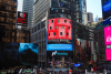 art from Santiago Ribeiro at Times Square NY'