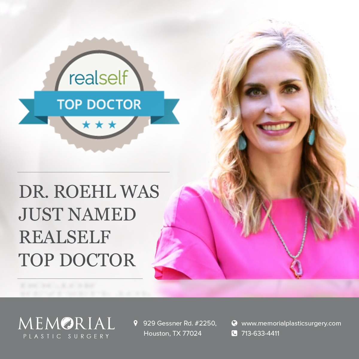 Dr. Kendall Roehl - RealSelf Top Doctor