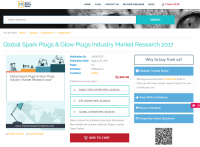Global Spark Plugs & Glow Plugs Industry Market Rese