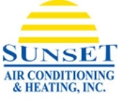 Sunset Air Conditioning and Heating Logo