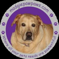 MadgiePawPaws.com Logo