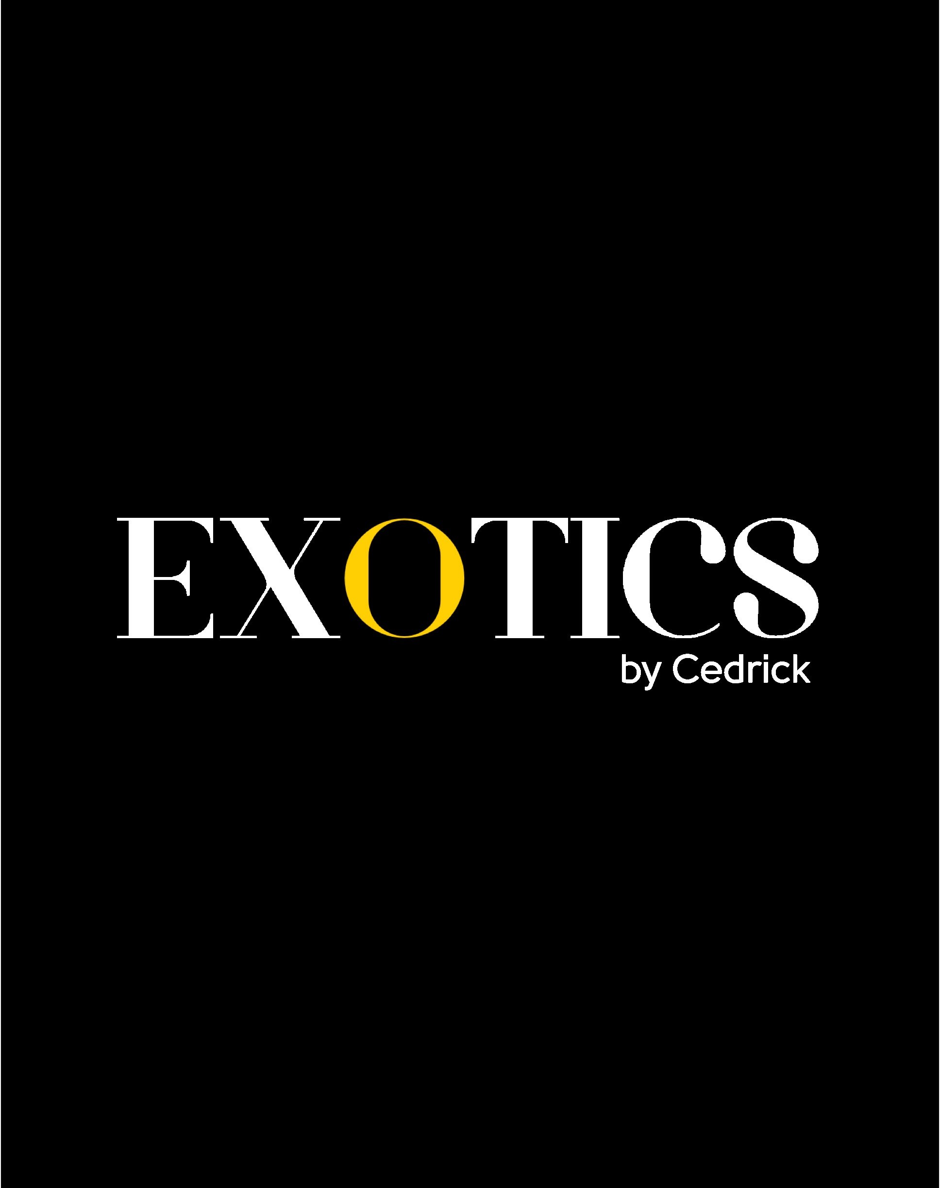 Exotics By Cedrick Logo