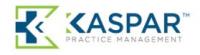 KASPAR Practice Management Logo