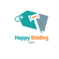 HappyBidding247.com Logo