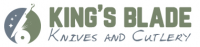KingsBladeKnivesAndCutlery.com Logo