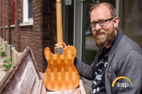 The Sound of the City: Wallace Detroit Guitars Founder to be