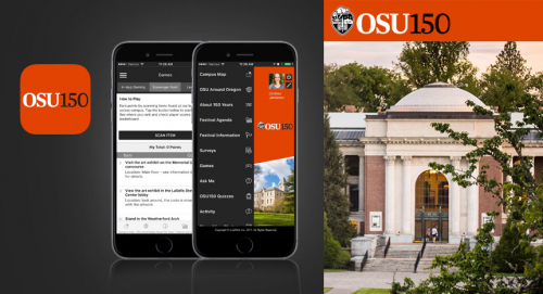 Oregon State University Mobile Event App'