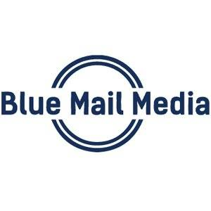 Company Logo For Blue Mail Media'