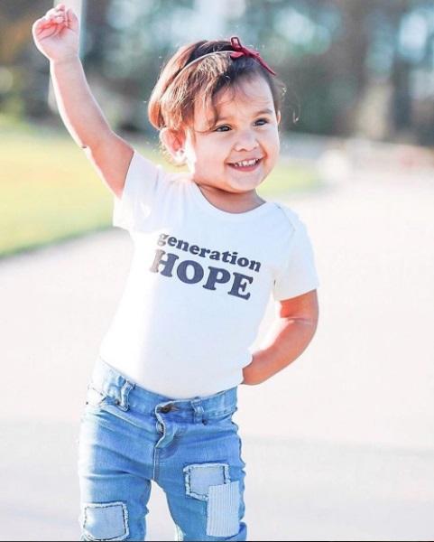 Estella Organic Baby Onesie Generation Hope'