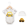 Estella Organic Baby Onesie Taxi'