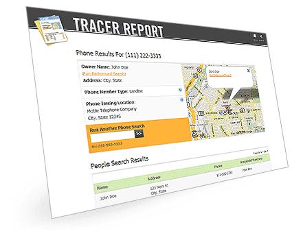 Phone Detective Sample Report'