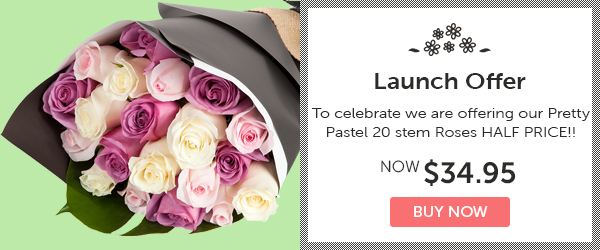 Fresh Flowers Special Launch Offer