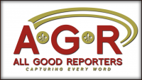 All Good Reporters LLC Logo