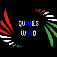 Quotes Weed Logo