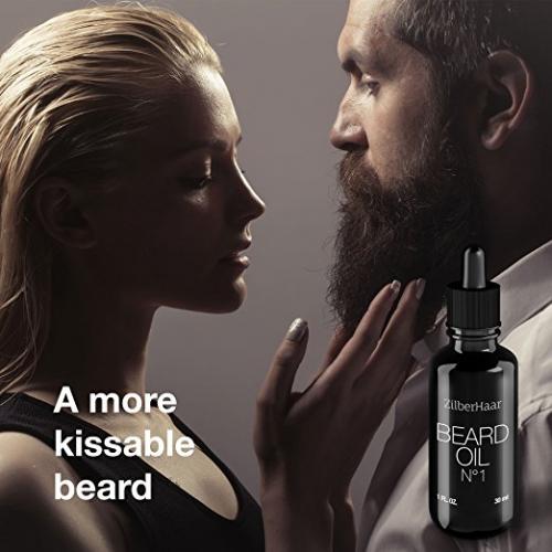 ZilberHaar Beard Oil No.1 makes beards more lovable'
