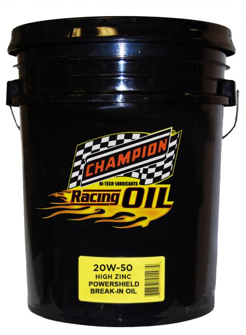 Champion 20w-50 Break-In Oil'