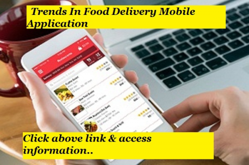 Food Delivery Mobile Application'