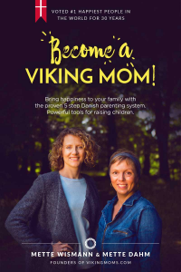Authors of Become a Viking Mom, Mette Dahm and Mette Wismann