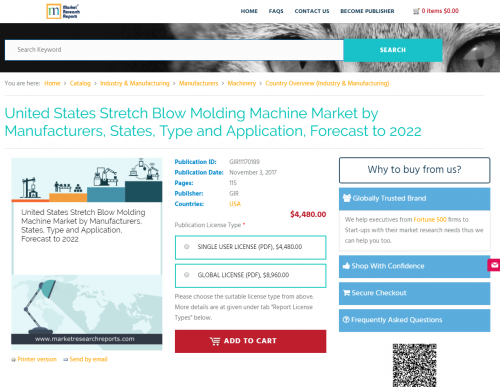 United States Stretch Blow Molding Machine Market 2022'