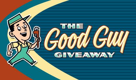 2017 Thanksgiving Good Guy Plumbing Giveaway Contest'