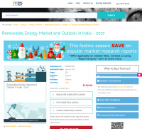 Renewable Energy Market and Outlook in India - 2017