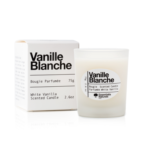 Vanille Blanche Organic Candle'