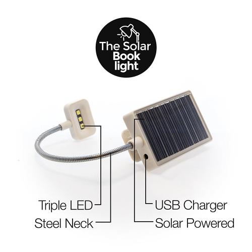 Solar Book Light'
