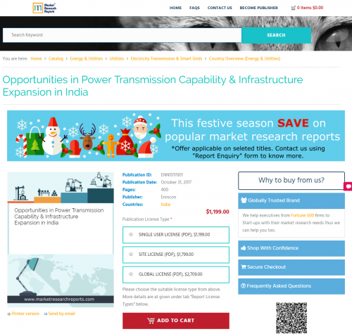 Opportunities in Power Transmission Capability'