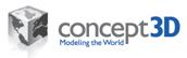 Logo for concept3D'