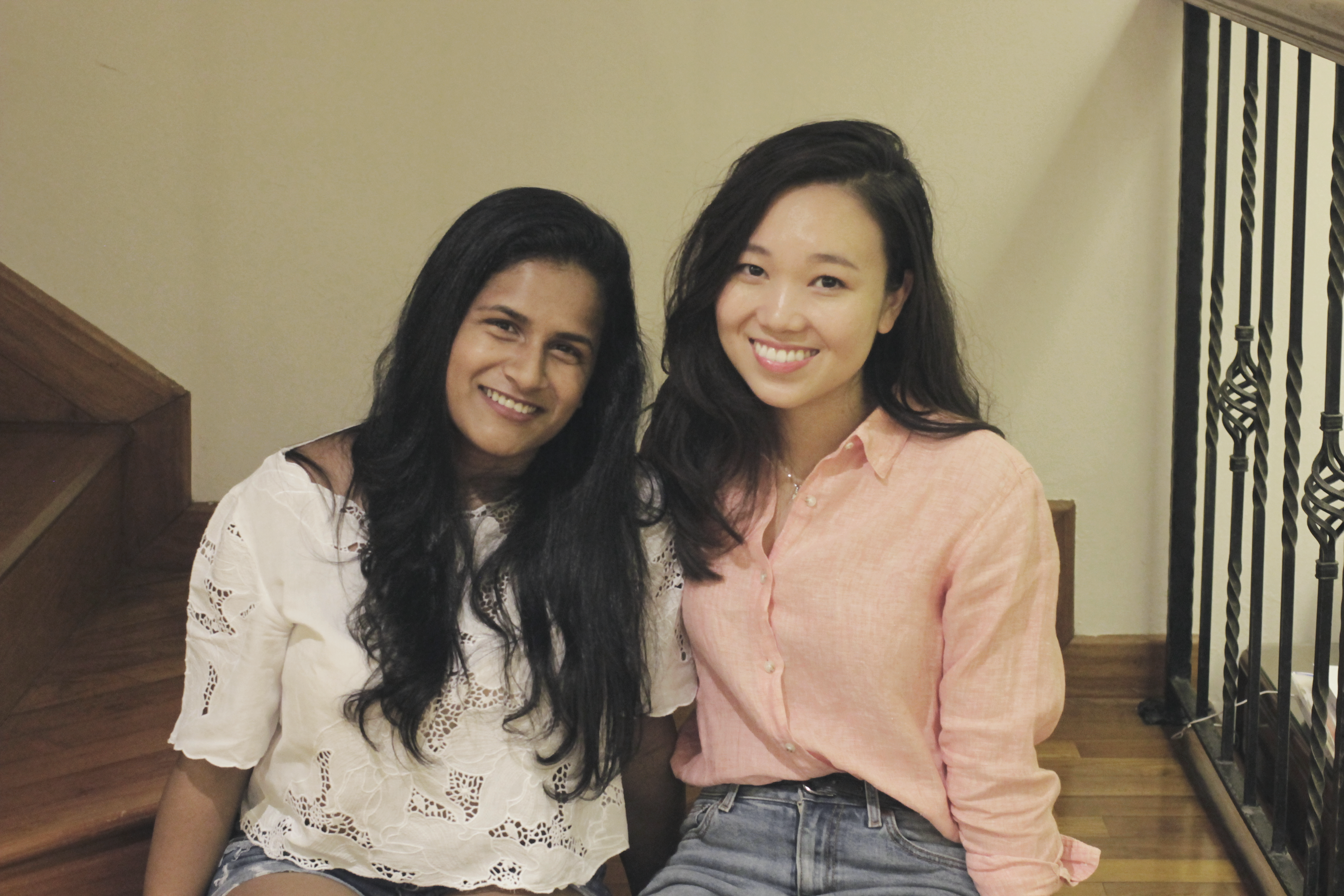 Co-founders Sneha and Gladys