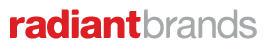 Logo for RadiantBrands'