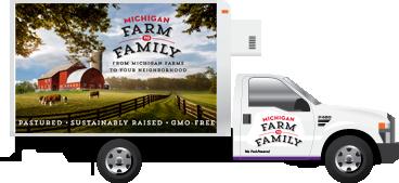 Michigan Farm to Family Van'