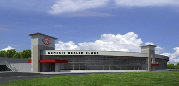 Genesis Health Clubs Manhattan Rendering