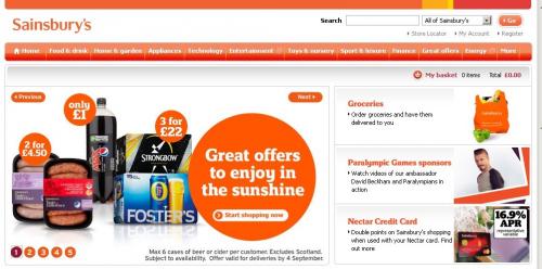 Sainsburys Ventures Online'