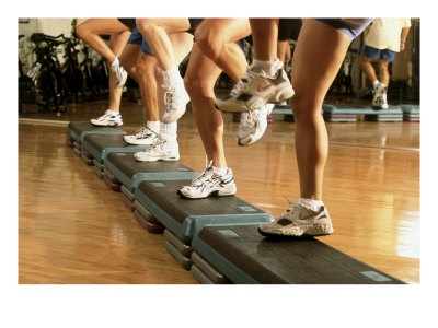 Step Aerobics by DraeMoon.com'
