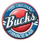 Bucks Furnace & Air Logo