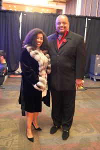 Ms. Katrina Walker and Roland Martin