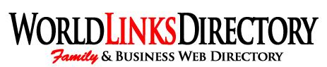 Logo for World Links Directory'