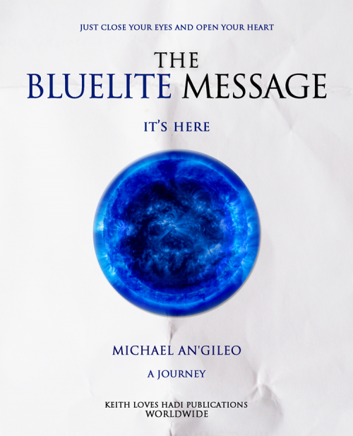 The Bluelite Message Cover'