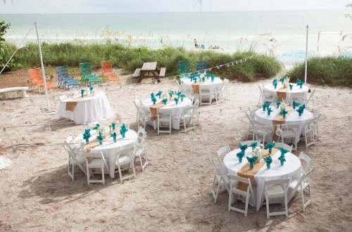 Florida beach house weddings and receptions'