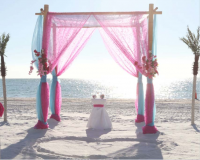 Florida beach vow renewals