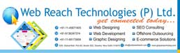 Logo for Webreach Technologies  Pvt Ltd'
