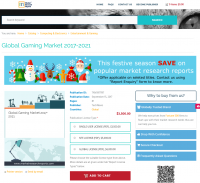 Global Gaming Market 2017 - 2021
