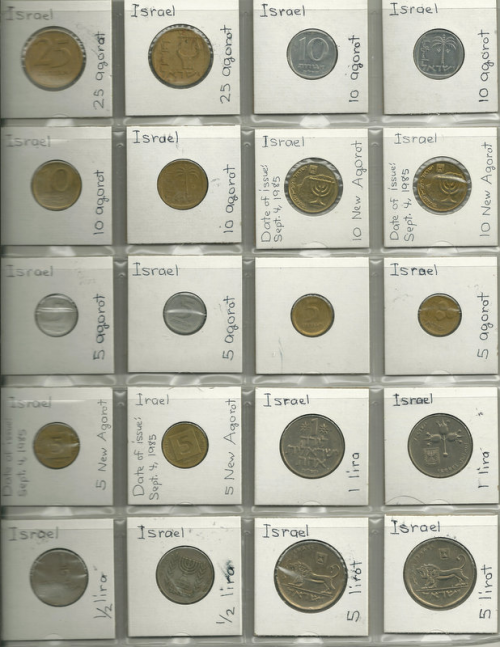 EBay auction of World Coin Collection for Supporting Childre'
