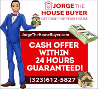 Jorge The House Buyer Los Angeles Logo