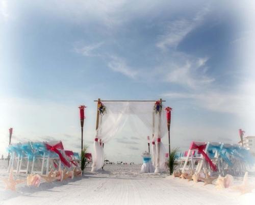 Clearwater beach weddings'