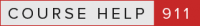 Course Help 911 Logo