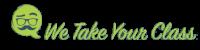 We Take Your Class Logo