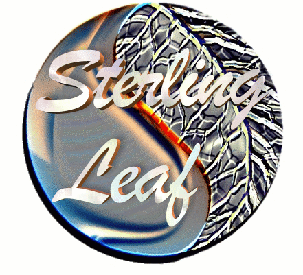 Logo for Sterling Leaf Jewelry'